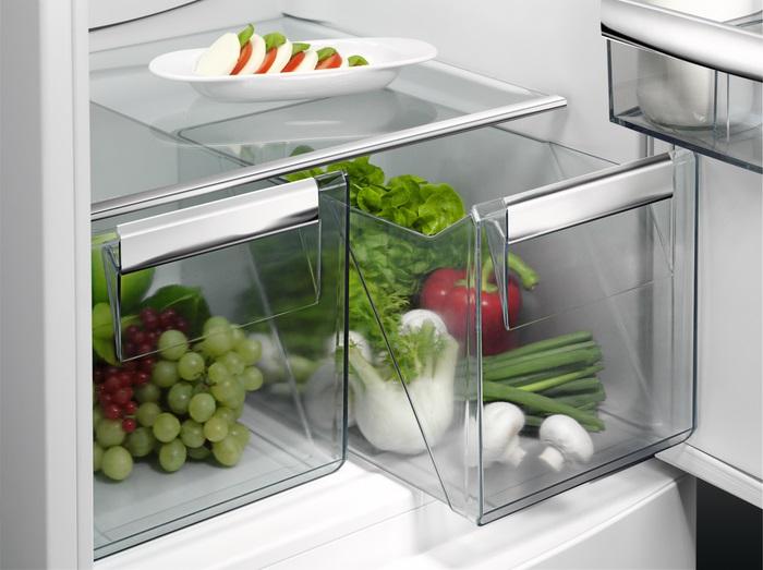 Aeg Kühlschrank Mit Gefrierfach Abtauen : Aeg scb51821ls küchengeräte versandkostenfrei und günstig einkaufen