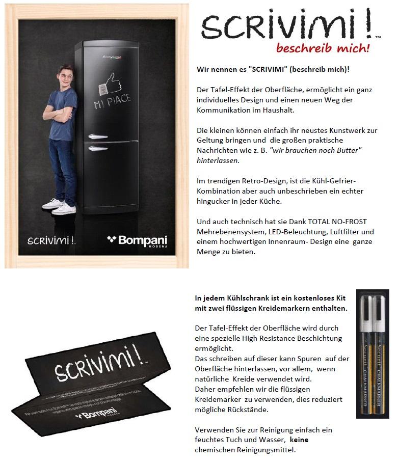 bompani bocb681 l schwarz scrivimi beschreib mich. Black Bedroom Furniture Sets. Home Design Ideas