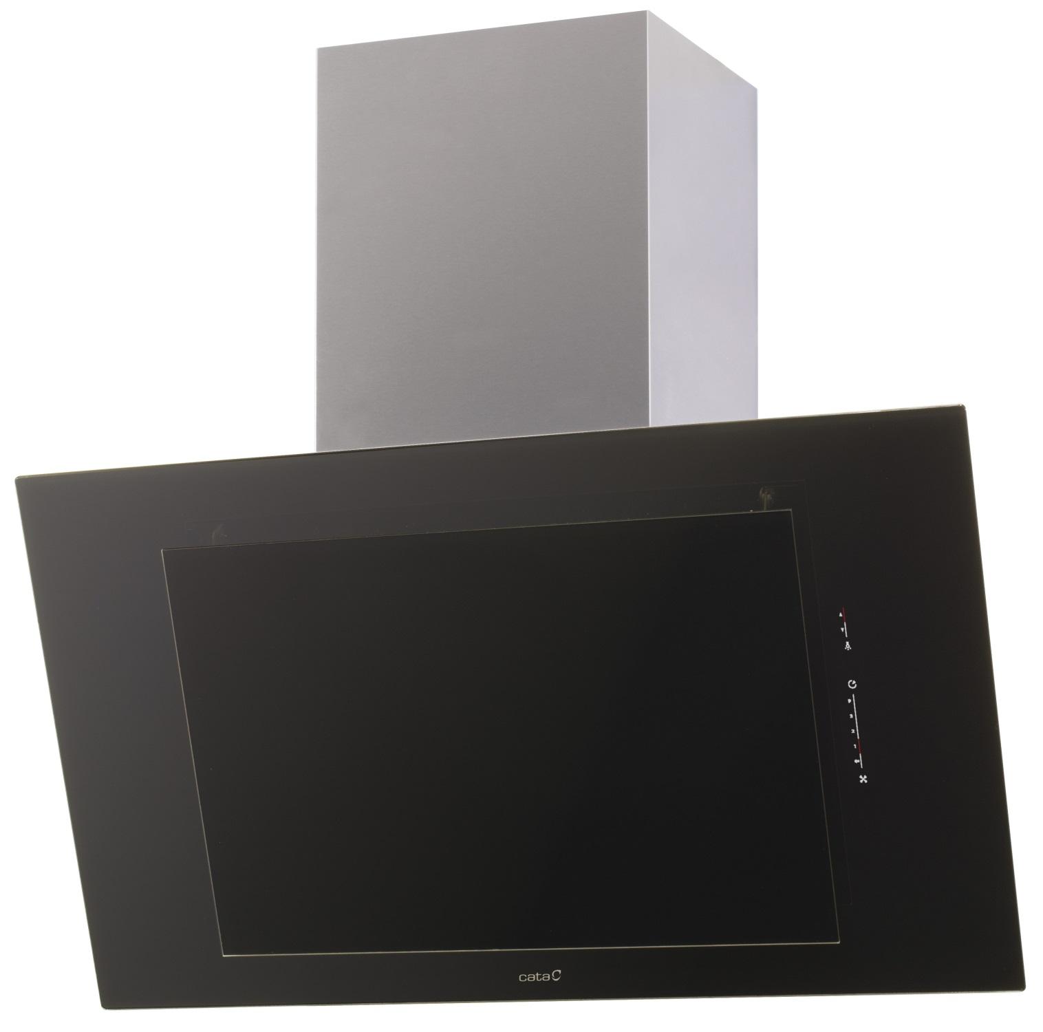 cata thalassa 600 black a kopffreie dunstabzugshaube k chenger te versandkostenfrei und. Black Bedroom Furniture Sets. Home Design Ideas